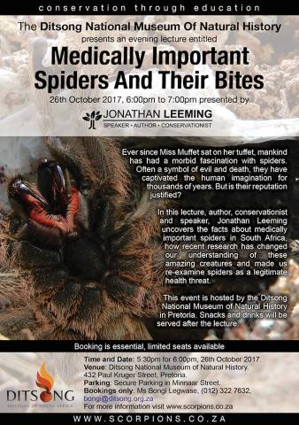 Medically Important Spiders and Their Bites